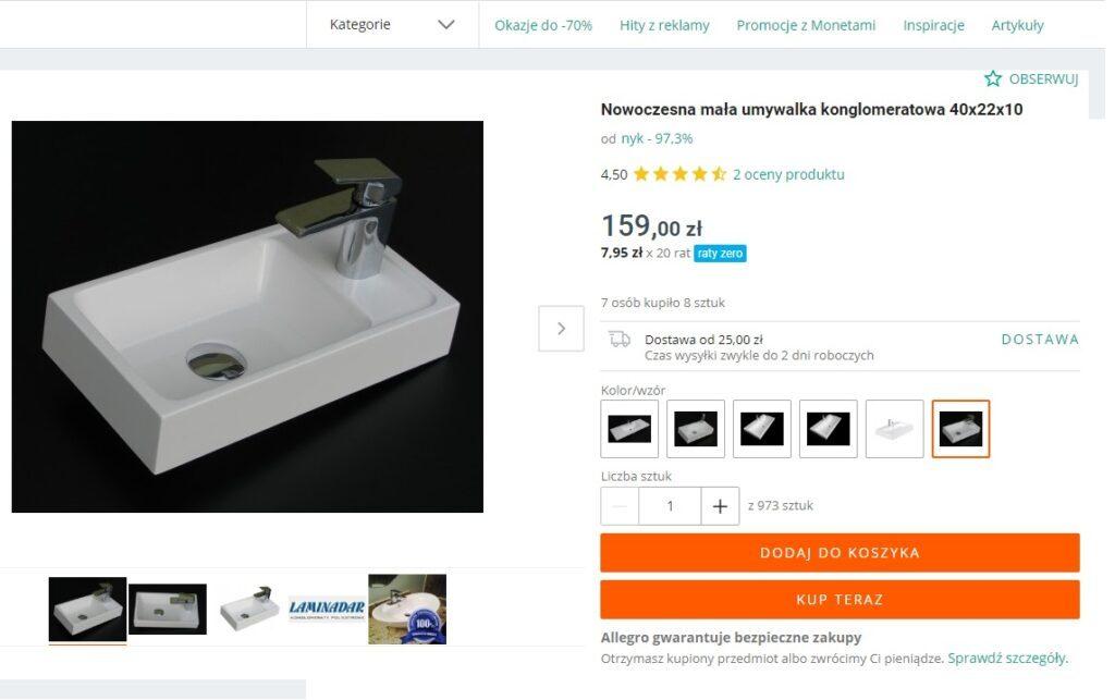 Umywalka Mini